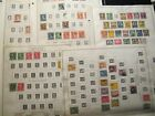 US Regular Postal Issues 154 Stamp Collection on Minkus Pages 1847 1943
