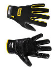 HIGH PERFORMANCE SUPER GRIP GLOVES BLACK HEAVY DUTY MECHANICS WORK GLOVES