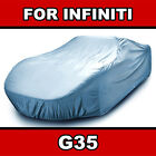 Fits. Infiniti G35 Car Cover - Ultimate Full Custom-fit All Weather Protection