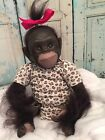 Reborn Chimpanzees Little Girl
