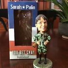 Royal Bobbles Sarah Palin in Cammo with Rifle Political BOBBLEHEAD