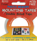 Photo Memory Double Sided Mounting Tape 5X30