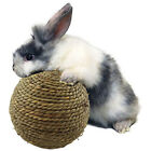 6CM Woven Grass Play Ball Natural Grass Entertainment Exercise Toys For Rabbit