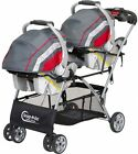 Toddler Kids Portable Travel Seat Lightweight Compact Universal Double Stroller
