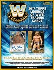 2017 Topps WWE Legends of the WWE Hobby 8-Box Case