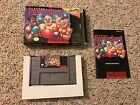SUPER PUNCH OUT Super Nintendo SNES COMPLETE IN BOX
