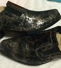 Tirrenia by Italian Shoemakers Western Booties Boots Mule Slip on Shoes Womens 9