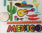 MEXICO Binder Stickers20pc StickoVacationMargaritaHats PeppersCactusHot