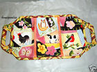 Fitz & Floyd COUNTRY CHIC Three Section w/ Handles Serving Platter Animals NEW