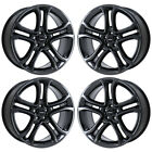 22 FORD EDGE SPORT BLACK CHROME WHEELS RIMS FACTORY OEM SET 4 3850 EXCHANGE
