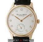 IWC Small Portuguese 18k Rose Gold 35mm Jaeger-Based 891/2 Movement IW3531-002