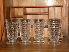 4 Vintage Colony American Whitehall Clear 14 oz. Footed Ice Tea Tumbler~6