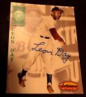 LEON DAY 1994 Ted Williams Co AUTOGRAPH The Negro Leagues PACK Pull AUTO w SEAL