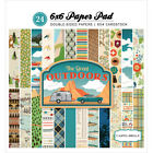 Carta Bella Double Sided Paper Pad 6X6 24 Pkg Great Outdoors 12 Designs 2 Ea