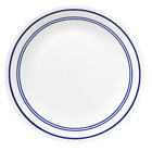 Corelle Livingware Dinner Plate, 10-1/4-Inch, Classic Cafe Blue