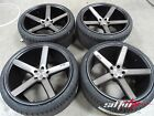 20 Niche M134 Milan Concave Black DDT Wheels w Tires fits BMW 5 Series 525 528