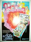 Original 1970 Williams ACES & KINGS Pinball German Trade Magazine Ad