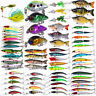 Lot Vintage Fishing Lures Bass Baits Spinner Minnow Crankbait Hooks Tackle Spoon