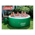 Lay Z Massage Portable Spa 4 to 6 People Outdoor Spa Heated Bubble Round Green