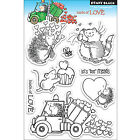 Penny Black Clear Stamps 5X7 Loads Of Love PB30146