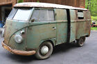 1958 Volkswagen Bus Vanagon panel van BARN FIND 1958 Volkswagen VW Bus Panel Van Microbus split window type 2