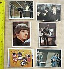 1964 BEATLES COLLECTIBLE TOPPS COLOR CARDS set of 6
