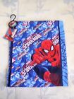 1 BOYS SPIDER MAN SCARF BLUE RED BY MARVEL