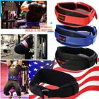 Weight lifting Belt Gym Training Back Support Body Building Lumbar Pain Black S