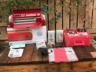 Cricut Cake Personal Electronic Cutter Machine Red Extra Cartridge
