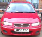 LARGER PHOTOS: V855 Cherished Number Plate? ROVER 214iE 16V Spares or Repair/Starts and Drives