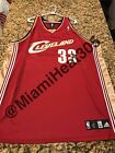 100% Authentic Adidas NBA Shaquille O'Neal Cavaliers Away Jersey Stitched Size56