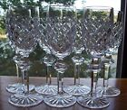 7 WATERFORD POWERSCOURT SHERRY GLASSES - Approx 6 1/2