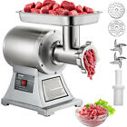 Commercial Electric Meat Grinder 750W Stainless Steel 550lbs h Heavy Duty 22