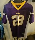 Authentic ADRIAN PETERSON Minnesota Vikings Autographed NFL Reebok Jersey Signed
