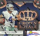 2016 Panini Crown Royale NFL Football EXCLUSIVE Factory Sealed Retail Box with