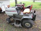 White Outdoor LGT 1650 Lawn Tractor with deck and bagger