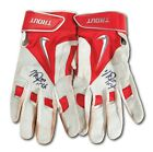 Mike Trout Signed Game Used 2015 Batting Gloves Pair Of (2) PSA DNA COA
