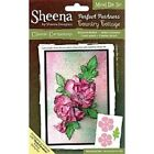 Crafters Companion Sheena Douglass Carnation Cutting die and stamps