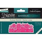 Crafters Companion Diesire Edgeables Cutting  Embossing Die Floral Dance