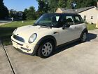 2004 Mini Cooper White with for $2500 dollars