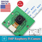 US 5MP Camera Sensor Module Board 1080P Webcam Video For Raspberry Pi 3B 2B B