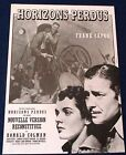 Lost Horizon Frank Capra ORIGINAL RE RELEASE 70s FRENCH MOVIE POSTER