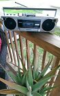 Panasonic Ambience RX-F2 mini Vintage Boombox Ghetto Blaster ( 100% working )