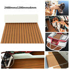 95x47x025 Marine Flooring Faux Teak EVA Foam Boat Decking Sheet Brown