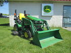 John Deere 1025R Tractor with Loader and 54 Deck