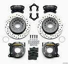 Dodge Charger,Challenger,Wilwood Dynalite Rear Parking Brake Kit,12