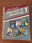 Phonics and Reading 1 Curriculum Lesson Plans A Beka Book Home School