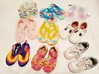 Lot GIRLS SHOES NIKE Jelly Clogs SNEAKERS SLIPPERS SANDAL Flowers WATER SHOE 5 6