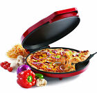 Betty Crocker Electric Nonstick 12 in Homemade Pizza Maker Oven Flatbread Cooker