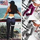 Women Skinny Trousers Athletic Gym Fitness Yoga Cropped Leggings Jogging Pants